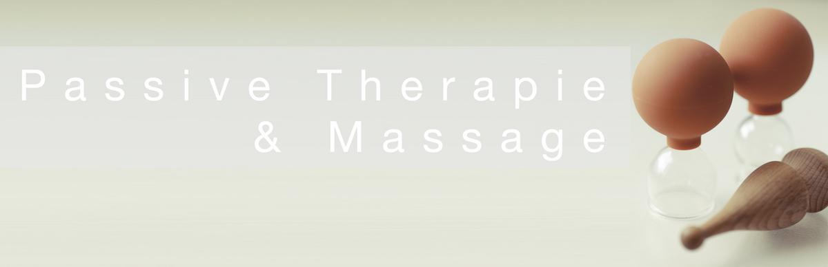 Therapie - passive Therapie und Masssage