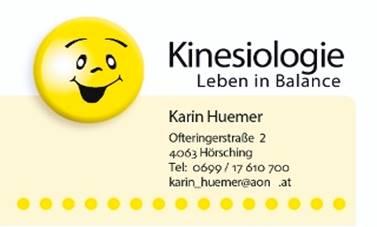 Kinesiologie Karin Huemer
